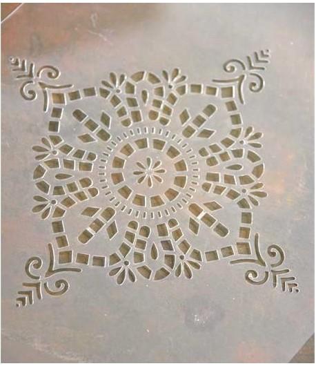 Stencil filigrana 6