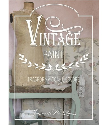 "Libro Vintage Paint "" Trasforma con il colore """