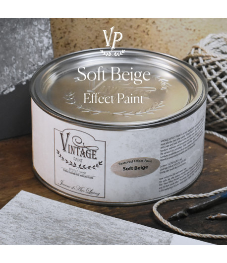 Vintage effetto industrial- Soft Beige 1L