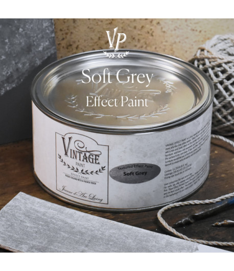Vintage effetto industrial- Soft Grey 1L