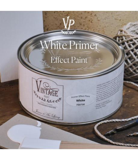 Vintage effetto industrial- Primer materico Bianco 1L