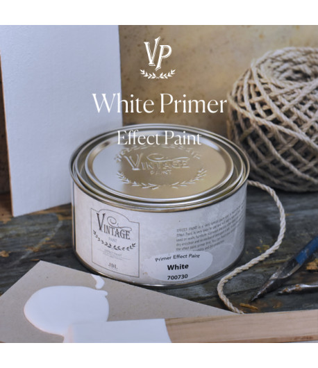 Vintage effetto industrial- Primer materico Bianco 250ml