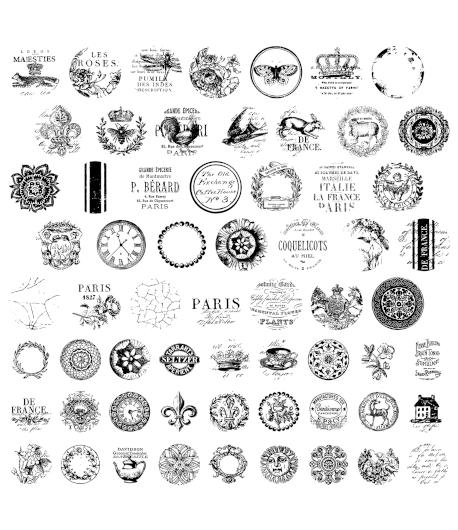 Timbro decorazione - POMELLI