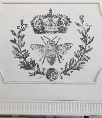 Timbro IOD Queen Bee