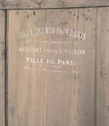 Stencil ville de paris