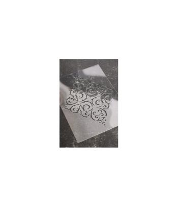 Stencil Flourish Motif